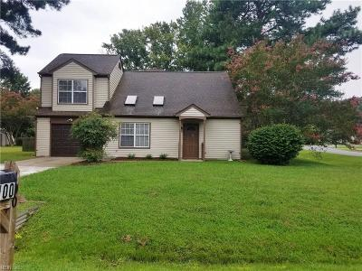 York County Single Family Home For Sale: 100 Wallace Ct