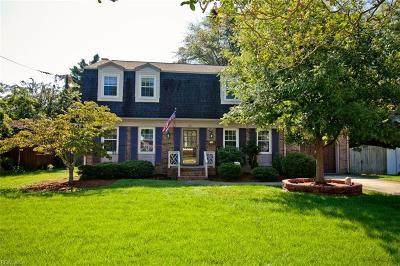 Newport News Single Family Home For Sale: 22 Elm Ave