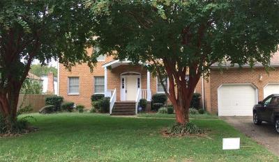 Hampton Single Family Home For Sale: 3 Alvin Dr