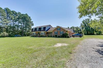 Chesapeake Single Family Home For Sale: 1829 Elbow Rd