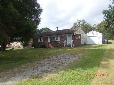 York County Single Family Home For Sale: 3405 Big Bethel Rd