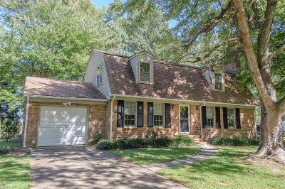 Isle of Wight County Single Family Home Under Contract: 1003 Whippingham Pw