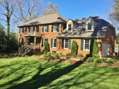 Virginia Beach VA Single Family Home For Sale: $1,114,900