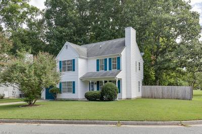 Newport News Single Family Home New Listing: 102 Summerglen Rdg