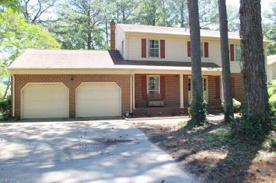 York County VA Single Family Home New Listing: $335,000