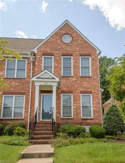 Newport News Single Family Home For Sale: 363 Emily Dickinson S