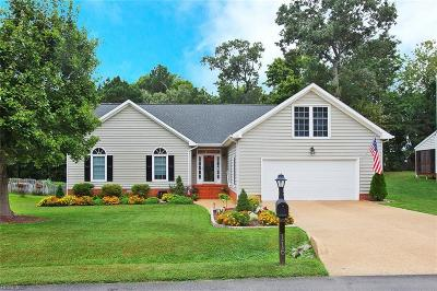 James City County Single Family Home New Listing: 116 Charter House Rd