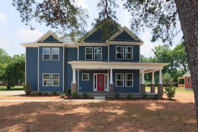 Suffolk Single Family Home For Sale: Mm Greystone @ Greenspring Dr