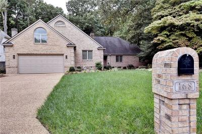 Newport News Single Family Home For Sale: 168 Point Heron Dr