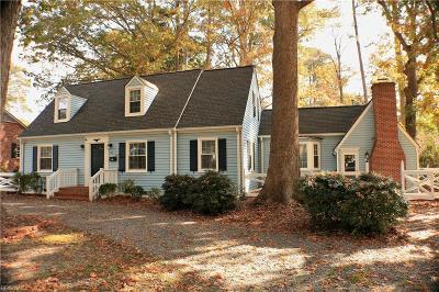 Newport News Single Family Home For Sale: 208 Dogwood Dr