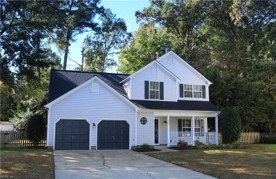 Newport News Single Family Home For Sale: 106 Steffi Pl