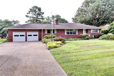 York County VA Single Family Home New Listing: $325,000