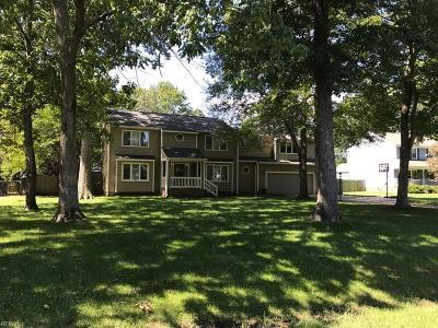York County VA Single Family Home New Listing: $515,000