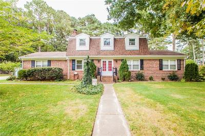 Suffolk Single Family Home New Listing: 5120 Dominion Dr