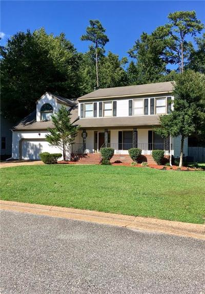 York County VA Single Family Home New Listing: $358,000