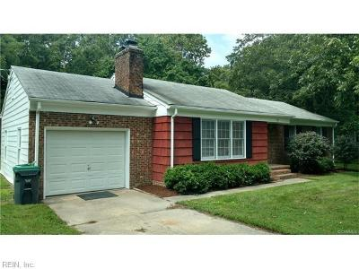 James City County Single Family Home New Listing: 132 Oslo Ct