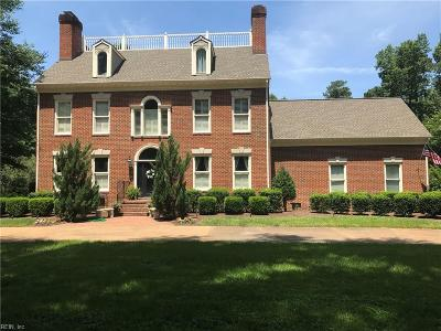 Chesapeake Single Family Home Under Contract: 505 Woodsmere Rd