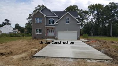 Newport News Single Family Home New Listing: 734 Old Fort Eustis Blvd