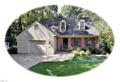 Williamsburg Single Family Home Under Contract: 406 Idlewood Ln
