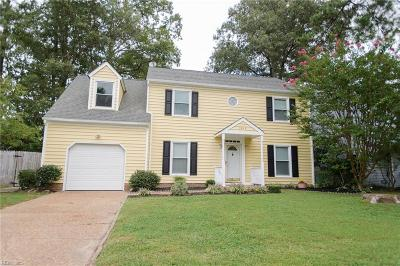 Newport News Single Family Home New Listing: 1217 Cobbler Way
