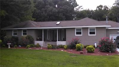 Isle of Wight County Single Family Home New Listing: 19531 Battery Park Rd