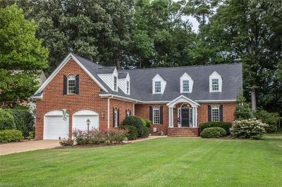 York County VA Single Family Home New Listing: $575,000