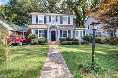Newport News Single Family Home New Listing: 78 Raleigh Rd