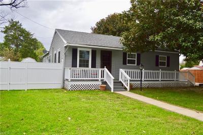 York County VA Single Family Home New Listing: $192,500