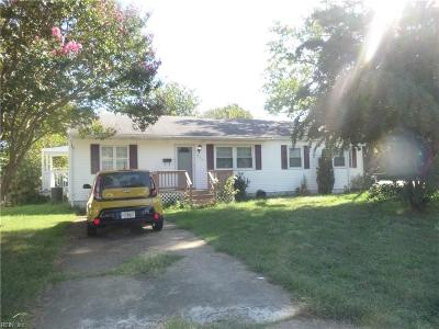 Hampton Single Family Home New Listing: 330 Adwood Ct