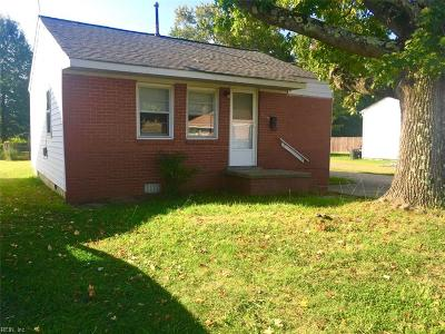 Hampton Single Family Home New Listing: 2028 Richard Ave