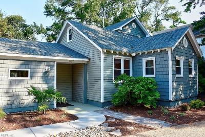 Virginia Beach Single Family Home For Sale: 627 Delaware Ave