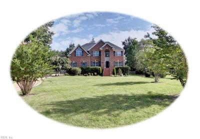 James City County Single Family Home New Listing: 2813 Durfeys Mill Rd