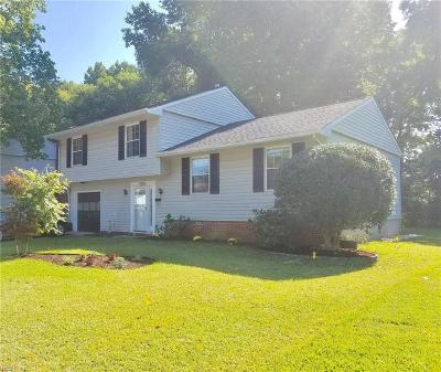 Newport News Single Family Home New Listing: 771 Chatsworth Dr