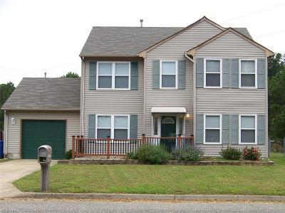 Newport News Single Family Home New Listing: 821 Wilderness Way