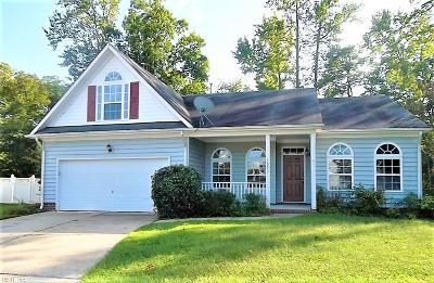Suffolk Single Family Home New Listing: 3053 Kempton Park Rd