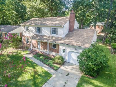 Newport News Single Family Home New Listing: 719 Village Green Pw