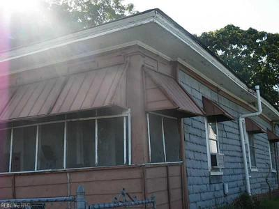 Newport News Single Family Home New Listing: 1807 27th St
