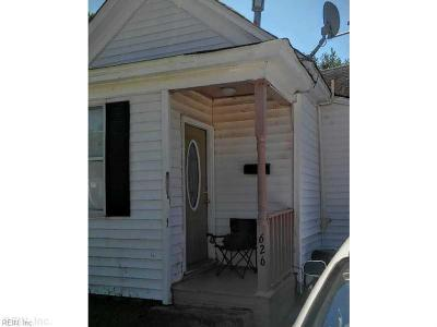 Newport News Single Family Home New Listing: 626 42nd St