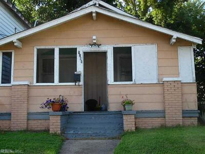 Newport News Single Family Home New Listing: 1231 20th St