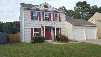 Newport News Single Family Home New Listing: 809 Palace Ct