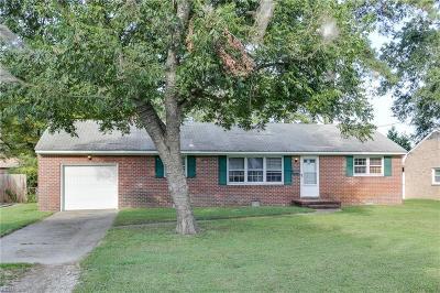 Newport News Single Family Home New Listing: 109 Hull St