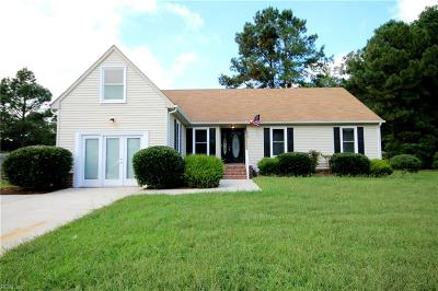 Suffolk Single Family Home New Listing: 862 Haskins Dr