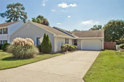 Newport News Single Family Home New Listing: 806 Thimbleby Dr