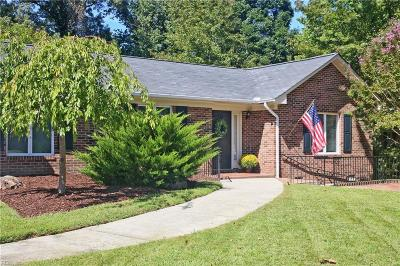 James City County Single Family Home New Listing: 104 Hermitage Rd