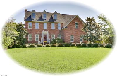 Poquoson Single Family Home For Sale: 15 Rivercrest Dr
