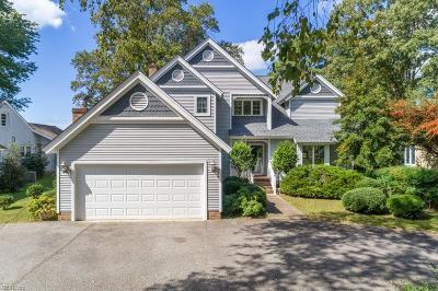 Newport News Single Family Home For Sale: 44 Haughton Ln