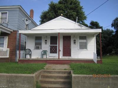 Single Family Home Sold: 721 16th St