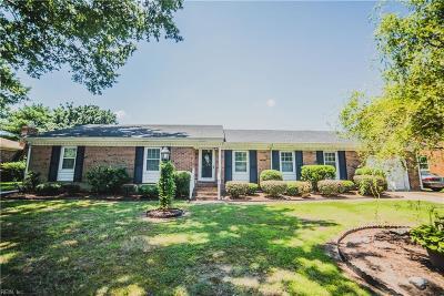 Portsmouth Single Family Home For Sale: 3717 Shoreline Dr