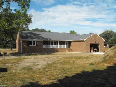Hayes Single Family Home For Sale: 2848 Carmines Island Rd