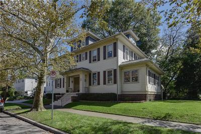 Norfolk Single Family Home For Sale: 1600 Manteo St